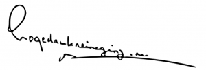 Hogedrukreiniging.nu handtekening